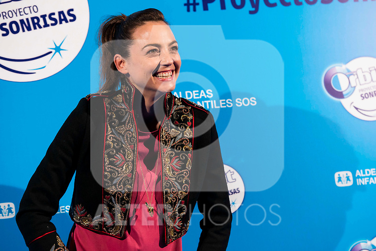 "Leonor Watling attends to the presentation of the ""Proyecto Sonrisas"" at Gran Teatro Principe Pio in Madrid. March 23, 2017. (ALTERPHOTOS/Borja B.Hojas)"