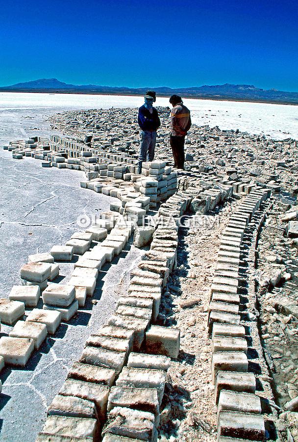 Deserto de Sal do Uyuni. Bolívia. 1998. Foto de Juca Martins.