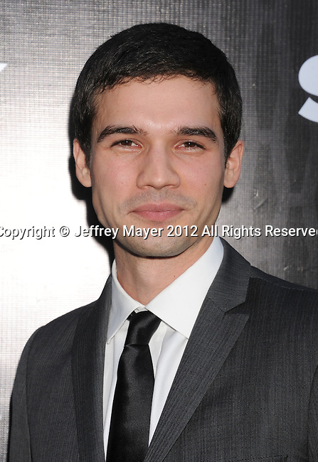 LOS ANGELES, CA - MARCH 20: Steven Strait attends the 'Magic City' Los Angeles Series Premiere at the Directors Guild Of America on March 20, 2012 in Los Angeles, California.