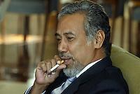 Xanana Gusmão  president of Timor Lest 22/04/2004
