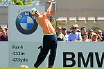 Marcel Siem tees off from the 1st tee to start  Round 3 of the BMW PGA Championship at  Wentworth, Surrey, England, 22nd May 2010...Photo Golffile/Eoin Clarke.(Photo credit should read Eoin Clarke www.golffile.ie)....This Picture has been sent you under the condtions enclosed by:.Newsfile Ltd..The Studio,.Millmount Abbey,.Drogheda,.Co Meath..Ireland..Tel: +353(0)41-9871240.Fax: +353(0)41-9871260.GSM: +353(0)86-2500958.email: pictures@newsfile.ie.www.newsfile.ie.