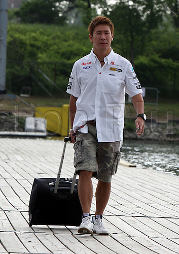 06.10.2011, Montreal, Canada. Formula 1 Grand Prix.   Kamui Kobayashi, Team Sauber, ..