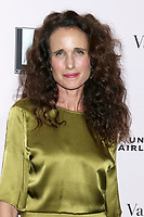 LOS ANGELES - OCT 3:  Andie MacDowell at the L.A. Dance Project Annual Gala at the Hauser & Wirth on October 3, 2019 in Los Angeles, CA