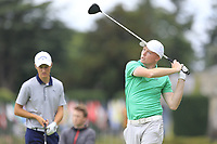 Robin Dawson (Ireland) during final day of the World Amateur Team Championships 2018, Carton House, Kildare, Ireland. 08/09/2018.<br /> Picture Fran Caffrey / Golffile.ie<br /> <br /> All photo usage must carry mandatory copyright credit (&copy; Golffile | Fran Caffrey)