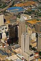 Aerial photo of Charlotte taken May 2008.
