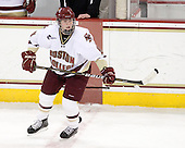 Taylor Wasylk (BC - 9) - The Boston College Eagles defeated the visiting Northeastern University Huskies 2-1 on Sunday, January 30, 2011, at Conte Forum in Chestnut Hill, Massachusetts.