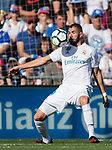 Karim Benzema of Real Madrid in action during the La Liga 2017-18 match between Getafe CF and Real Madrid at Coliseum Alfonso Perez on 14 October 2017 in Getafe, Spain. Photo by Diego Gonzalez / Power Sport Images