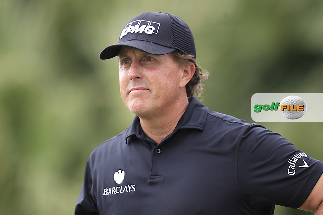 Phil Mickelson (USA) during round 3 of the WGC Cadillac Championship, Blue Monster, Trump National, Doral,  Florida, USA. 05/03/2016.<br /> Picture: Golffile | Fran Caffrey<br /> <br /> <br /> All photo usage must carry mandatory copyright credit (&copy; Golffile | Fran Caffrey)
