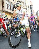 Cheng Ji before the stage of La Vuelta 2012 between Logroño and Logroño.August 22,2012. (ALTERPHOTOS/Acero) /NortePhoto.com<br /> <br /> **SOLO*VENTA*EN*MEXICO**<br /> **CREDITO*OBLIGATORIO**<br /> *No*Venta*A*Terceros*<br /> *No*Sale*So*third*<br /> *** No Se Permite Hacer Archivo**<br /> *No*Sale*So*third*