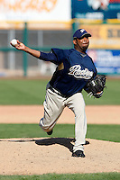 Oneli Perez - San Diego Padres - 2009 spring training.Photo by:  Bill Mitchell/Four Seam Images