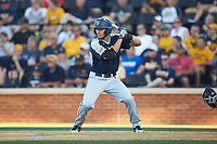 Darius Hill (31) of the West Virginia Mountaineers at bat against the Wake Forest Demon Deacons in Game Four of the Winston-Salem Regional in the 2017 College World Series at David F. Couch Ballpark on June 3, 2017 in Winston-Salem, North Carolina. The Demon Deacons walked-off the Mountaineers 4-3. (Brian Westerholt/Four Seam Images)