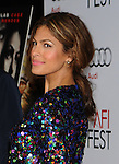 "HOLLYWOOD, CA. - November 04: Eva Mendes arrives at the AFI Fest Screening Of ""Bad Lieutenant: Port Of Call New Orleans"" Grauman's Chinese Theatre on November 4, 2009 in Hollywood, California."