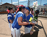 Wildcats honor graduating sophomore Katilyn Covione at Edmonds Sports Complex Carson City, Nev., on Saturday, May 2, 2015.<br /> Photo by Cathleen Allison