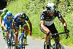 The breakaway group try to get away during Stage 5 of the Criterium du Dauphine 2017, running 175.5km from La Tour-de Salvagny to Macon, France. 8th June 2017. <br /> Picture: ASO/A.Broadway | Cyclefile<br /> <br /> <br /> All photos usage must carry mandatory copyright credit (&copy; Cyclefile | ASO/A.Broadway)