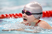 Picture by Richard Blaxall/SWpix.com - 14/04/2018 - Swimming - EFDS National Junior Para Swimming Champs - The Quays, Southampton, England - Emily-Jane Surgeoner of Orion during the Women's Open 100m Breaststroke
