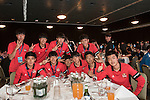 Celebration dinner at the end of the HKFC Citi Soccer Sevens on 22 May 2016 in the Hong Kong Footbal Club, Hong Kong, China. Photo by Lim Weixiang / Power Sport Images