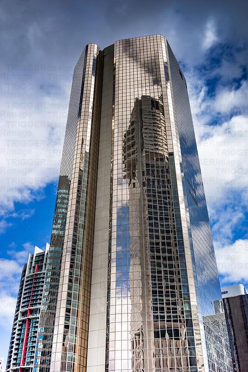 Blue skies over Brisbane