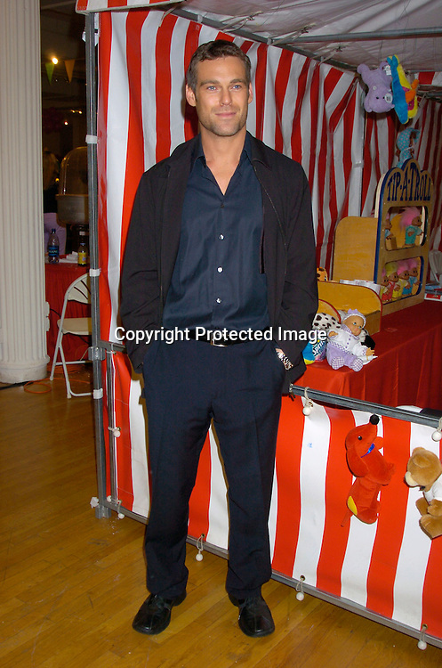 "Grayson McCouch ..at the 3rd Annual ""Children's Day Artrageous"" on April 25, 2004 benefitting Edwin Gould Services for Children and ..Families at The Metropolitan Pavilion in New York City...Photo by Robin Platzer, Twin Images"