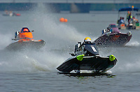 (L to R):Mike Hodges, #624, #8 and Nancy Landgraf, #873 (Sport C Tunnel Boat(s)