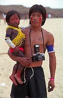 Brazil,Amazon - 08/10/2000 - India Kayapó.