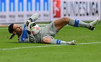 FUSSBALL  1. BUNDESLIGA  SAISON 2012/2013  2. SPIELTAG    01.09.2012 TSG 1899 Hoffenheim  - Eintracht Frankfurt Torwart Tim Wiese (TSG 1899 Hoffenheim) mit BAll