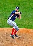 6 March 2009: Washington Nationals' pitcher Michael Hinckley on the mound during a Spring Training game against the Baltimore Orioles at Fort Lauderdale Stadium in Fort Lauderdale, Florida. The Orioles defeated the Nationals 6-2 in the Grapefruit League matchup. Mandatory Photo Credit: Ed Wolfstein Photo