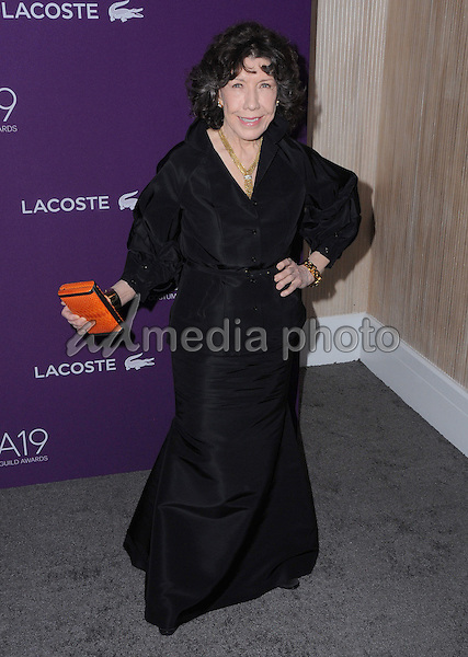 21 February 2017 - Beverly Hills, California - Lily Tomlin.  19th Costume Designers Guild Awards held at The Beverly Hilton Hotel. Photo Credit: Birdie Thompson/AdMedia