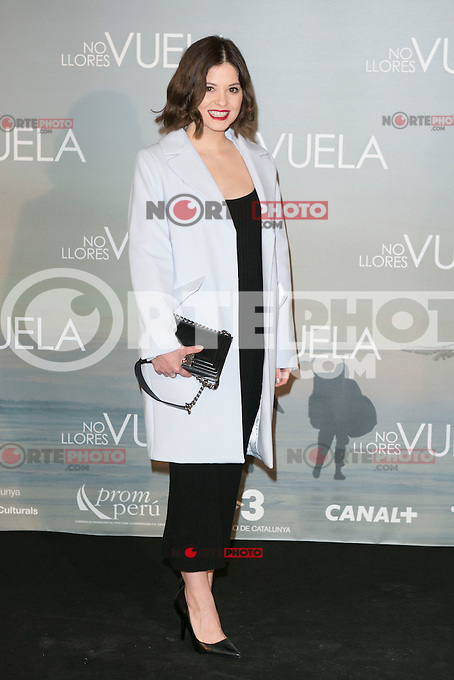 attends Claudia&acute;s Llosa &quot;No Llores Vuela&quot; movie premiere at Callao Cinema, Madrid,  Spain. January 21, 2015.(ALTERPHOTOS/)Carlos Dafonte) /NortePhoto<br /> NortePhoto.com