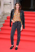 "Charlotte Wiggins<br /> arriving for the premiere of ""The Wife"" at Somerset House, London<br /> <br /> ©Ash Knotek  D3418  09/08/2018"