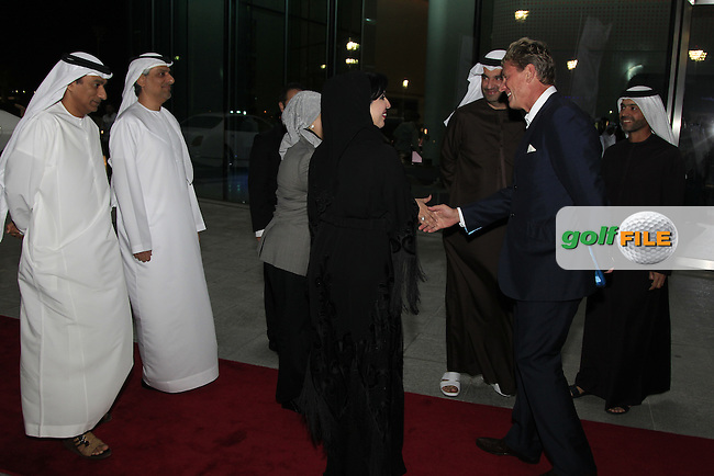\{prsn}\ during the 2015 Abu Dhabi Invitational Gala Evening held at The Viceroy Hotel, Yas Island, Abu Dhabi.: Picture Eoin Clarke, www.golffile.ie: 1/25/2015