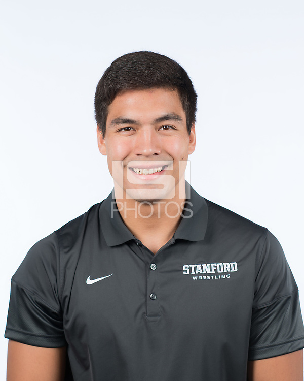 Stanford, Ca - October 10, 2017: The 2017-2018 Stanford Cardinal Wrestling Team