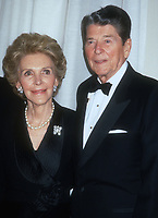 Nancy Reagan, Ronald Reagan, 1991, Photo By Michael Ferguson/PHOTOlink
