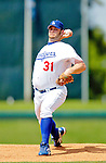 6 March 2006: Brad Penny, pitcher for the Los Angeles Dodgers, winds up during a Spring Training game against the Washington Nationals. The Nationals and Dodgers played to a scoreless tie at Holeman Stadium, in Vero Beach Florida...Mandatory Photo Credit: Ed Wolfstein..