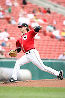 July 20th 2008:  Pitcher David Huff of the Buffalo Bisons, Class-AAA affiliate of the Cleveland Indians, during a game at Dunn Tire Park in Buffalo, NY.  Photo by:  Mike Janes/Four Seam Images