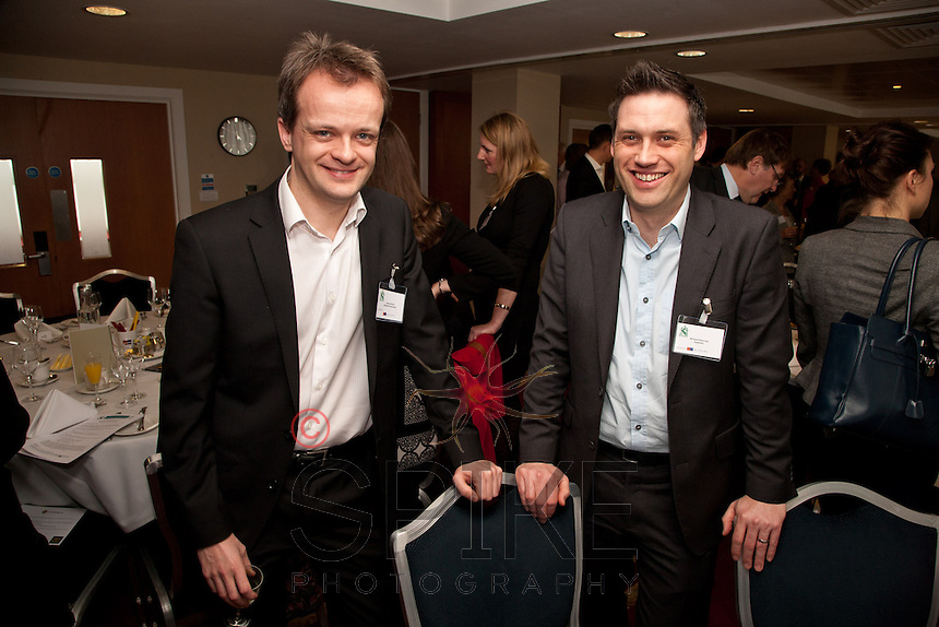 James Bryant (left) of Skeleton Productions and Richard Donovan of Experian