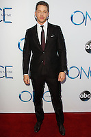 HOLLYWOOD, LOS ANGELES, CA, USA - SEPTEMBER 21: Josh Dallas arrives at the Los Angeles Screening Of ABC's 'Once Upon A Time' Season 4 held at the El Capitan Theatre on September 21, 2014 in Hollywood, Los Angeles, California, United States. (Photo by Celebrity Monitor)