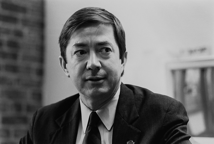 Attorney Drew Edmondson, D-Okla., on May 19, 1992. (Photo by Chris Ayers/CQ Roll Call via Getty Images)