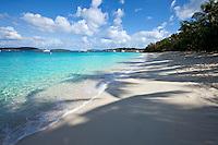 Honeymoon beach, St. John, Virgin Islands national park