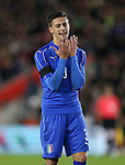 Italy's Antonio Barreca in action during the Under 21 International Friendly match at the St Mary's Stadium, Southampton. Picture date November 10th, 2016 Pic David Klein/Sportimage