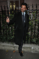 Anil Kapoor out &amp; about, spotted leaving Annabel's restaurant, Berkeley Square, London, England, UK, on Tuesday 06 November 2018.<br /> CAP/CAN<br /> &copy;CAN/Capital Pictures