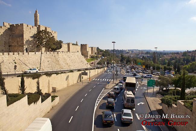 Old City & Roadway , Jerusalem