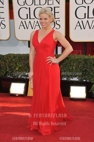 Megan Hilty at the 70th Golden Globe Awards at the Beverly Hilton Hotel..January 13, 2013  Beverly Hills, CA.Picture: Paul Smith / Featureflash