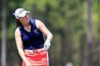 Jennifer Kupcho (USA) on the 1st during the second round of the Augusta National Womans Amateur 2019, Champions Retreat, Augusta, Georgia, USA. 04/04/2019.<br /> Picture Fran Caffrey / Golffile.ie<br /> <br /> All photo usage must carry mandatory copyright credit (&copy; Golffile | Fran Caffrey)