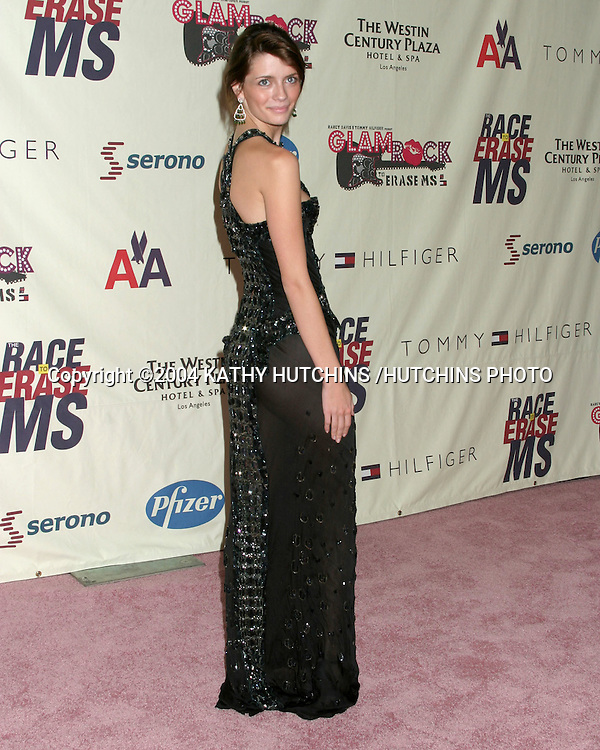 ©2004 KATHY HUTCHINS /HUTCHINS PHOTO.RACE TO ERASE MS BENEFIT GALA.CENTURY CITY, CA.MAY 14, 2004..MISCHA BARTON