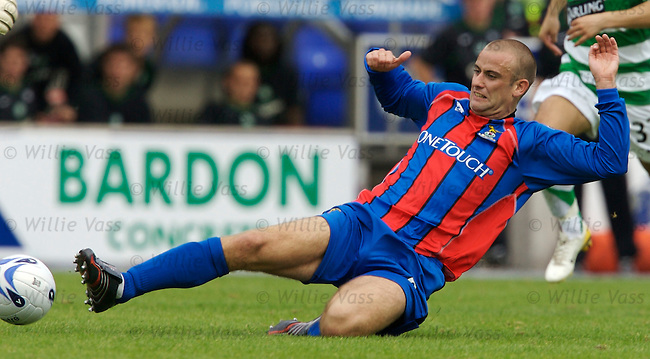 Graham Bayne, Inverness Caledonian Thistle.stock season 2006-2007.pic willie vass