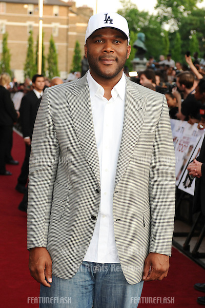"Director, Tyler Perry.arrives for the ""Why Did I Get Married Too"" premiere at the Ritzy cinema, Brixton, London. 17/05/2010  Picture by Steve Vas/Featureflash"