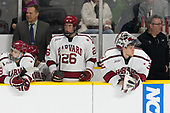 Clay Anderson (Harvard - 5), Paul Pearl (Harvard - Associate Head Coach), Jacob Olson (Harvard - 26), Cameron Gornet (Harvard - 32), John O'Donnell (Harvard - Equipment Manager) - The Harvard University Crimson defeated the Providence College Friars 3-0 in their NCAA East regional semi-final on Friday, March 24, 2017, at Dunkin' Donuts Center in Providence, Rhode Island.
