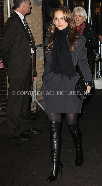 WWW.ACEPIXS.COM . . . . . ....November 19 2009, New York City....Actress Natalie Portman arriving at The Cinema Society and D&G screening of THE TWILIGHT SAGA: NEW MOON at Landmark's Sunshine Cinema on November 19, 2009 in New York City.....Please byline: KRISTIN CALLAHAN - ACEPIXS.COM.. . . . . . ..Ace Pictures, Inc:  ..(212) 243-8787 or (646) 679 0430..e-mail: picturedesk@acepixs.com..web: http://www.acepixs.com