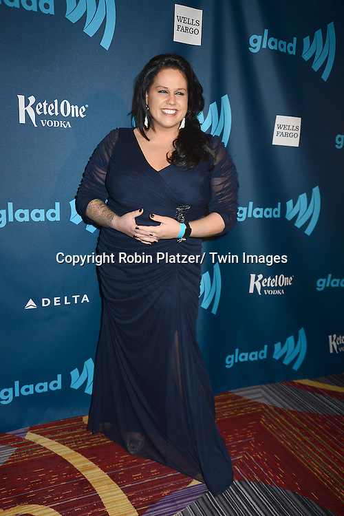 attends the 24th Annual GLAAD Media Awards on March 16, 2013 at The Marriott Marquis in New York City.