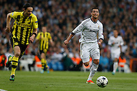 30.04.2012 SPAIN -  Champions League 12/13 Matchday 12th  match played between Real Madrid CF vs  Ballspiel-Verein Borussia 09 Dortmund at Santiago Bernabeu stadium. The picture show Cristiano Ronaldo (Portuguese forward of Real Madrid)